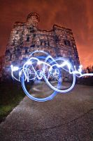 Light Graffiti - The Castle II by aeroartist