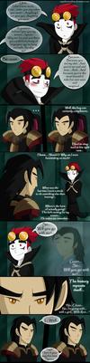 The Ball of The Moon - PAGE 4 (CHACK Comic) by Sapphiresenthiss