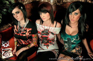 7 Deadly Fashion Girls by BleedingStarClothing