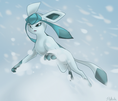Glaceon by Pikalu
