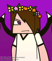 Enderlox Flower crown c: by The-Doodle-Ninja