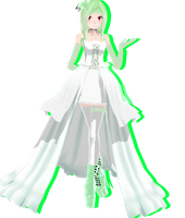 Gardevoir Gijinka - Download by SapphireRose-chan
