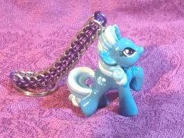 Custom Trixie chainmaille keychain by Nightwings-81
