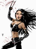 X-23 by IronWarrior777