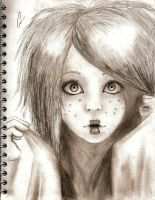 Sketch of Doll - like. by decolour