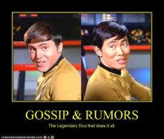 Star Trek: Gossip N' Rumors by JudiHyuga