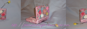Deco Rose and Pearls DSL case by PlutonianNight