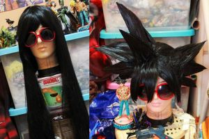 My New Son Goku wig by jeffbedash325
