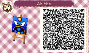 Air Man Flag by Diggeh
