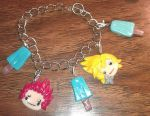 Axel+Roxas chram Braclet by Alexandria-Paige