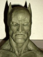Batman sculpture view 1 by myconius