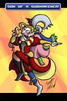 Commission: Kefka by wibblethefish