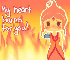 Flame Princess - My Heart Burns For You by PukaaParanoid