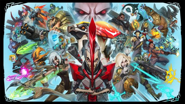 Battleborn Splash Screen by suburbbum
