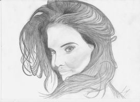 Katie Holmes by Martin-Luure