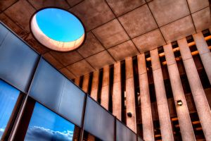 LDS Office Skylight by TPextonPhotography