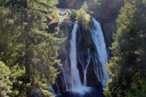 Burney Falls by cheslah