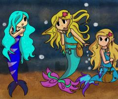 AT: Meeting Waterfilly ~ by TeLinkfan1