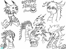 Parody-Feeling Like a Ghost sketches by ShardianofWhiteFire