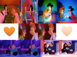 Disney High School and College Couples by 9029561