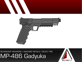 Izhevsk MP-486 Gadyuka by GrimReaper64