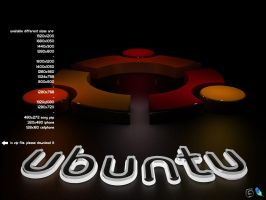 Ubuntu Wallpaper by AlperEsin
