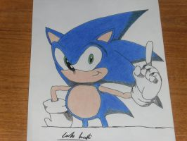 Sonic is Number One Ver 2 by DarkGamer2011