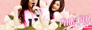 Seo Pink Girl by @EJ by Eriol-Diggory-Art