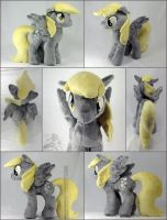 Plush Derpy Hooves MultiView! by HollyIvyDesigns