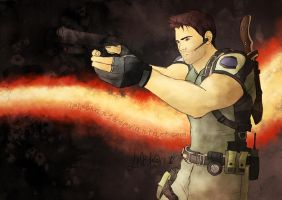 Chris Redfield RE5 by lelechan16
