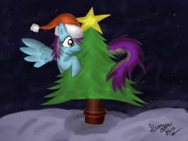 Christmas Time with Spirit by TerrierMix