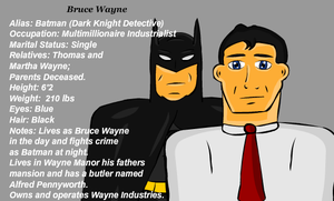 Bruce Wayne by sweetkat22