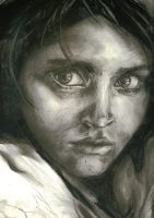 The Oppressed, charcoal by Dkelabirath