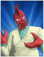 Dr. Zoidberg by NapalmDraws