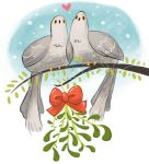 Two Turtle Doves by KCretcher