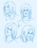 human Spike - a few expressions by oomizuao