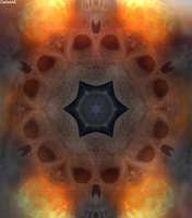 Skull Fire Lair by CarlosAE