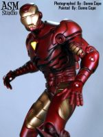 Iron Man Statue Painted - 01 by ASM-studio
