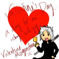 Valentine Morgenstern's Day by kittez-lollitaz