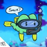 Mother 3 - Scuba Save Frog by JOSHDILISI
