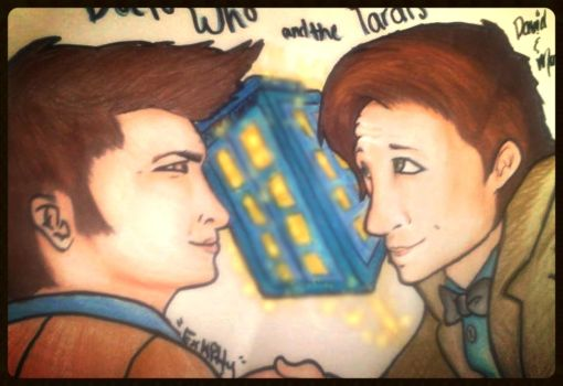 Doctor Who Doodle by EXKITTY