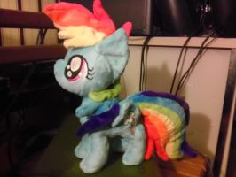 Filly RainbowDash by spaceman022