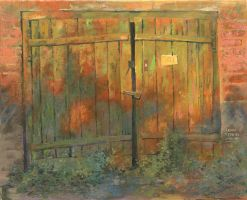 Evening Gate by DChernov