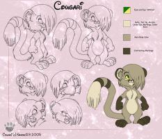 Toony Cougari Model Sheet by nanook123
