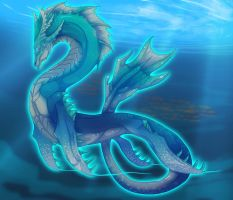 Sea Monster by magmi