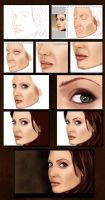 Angelina Jolie - Step by Step by pixelfun