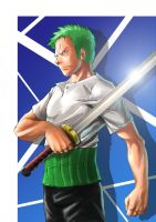 This is Zoro by karuma9