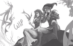 WIP: Legend of Zelda by Azu-Chan