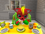 Messy eater (sl) by tailslover42