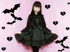 Kawaii Scary DIY - How To Sew Gothic Lolita Dress by YumiKing